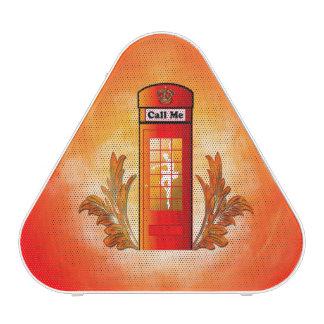 Cabine téléphonique rouge britannique haut-parleur bluetooth