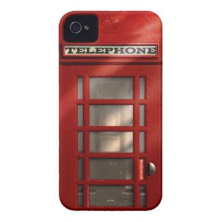 Cabine téléphonique rouge britannique vintage coques iPhone 4 Case-Mate