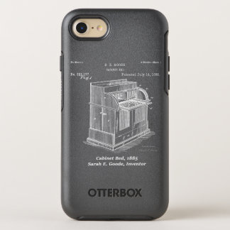 Cabinet Bed, Sarah E. Goode, Inventor OtterBox Symmetry iPhone 8/7 Case