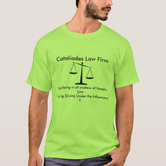 Cabinet juridique de Cataliades T-shirt