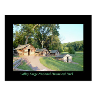 Cabins at Valley Forge Postcard