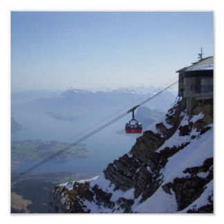 Cable Car Switzerland Poster