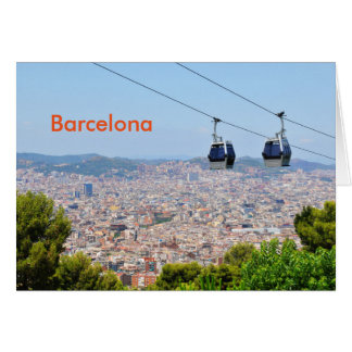 Cable cars (funiculars) in Barcelona Card