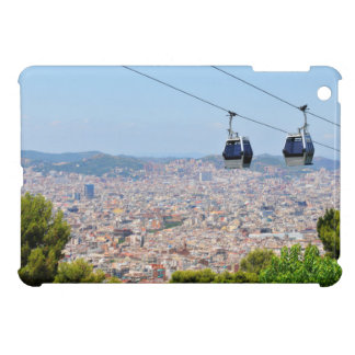 Cable cars (funiculars) in Barcelona iPad Mini Covers
