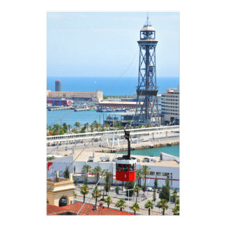 Cable cars (funiculars) in Barcelona Stationery