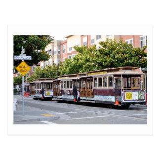 Cable Cars of San Francisco, CA Postcard