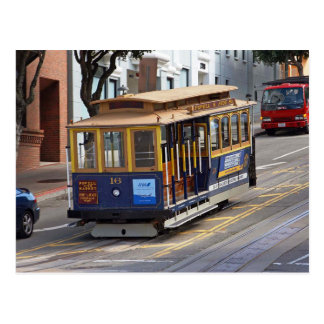 Cable Cars, San Francisco Postcard