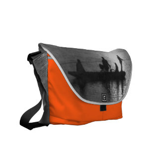 Cable ferry commuter bags