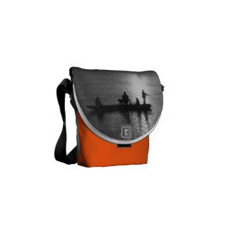 Cable ferry messenger bag