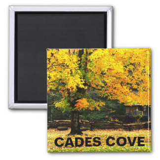 Cable Mill Autumn Cades Cove Magnet