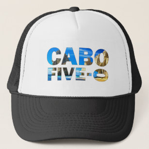 Cabo 50th Birthday Trucker Hat