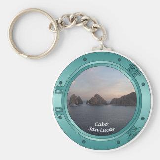 Cabo at Sunset Basic Round Button Keychain
