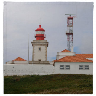 Cabo da Roca Lighthouse, Portugal Napkin