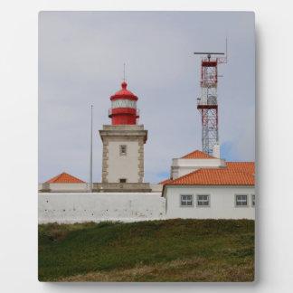 Cabo da Roca Lighthouse, Portugal Plaque