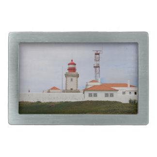 Cabo da Roca Lighthouse, Portugal Rectangular Belt Buckle