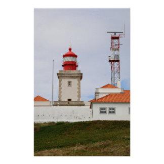 Cabo da Roca Lighthouse, Portugal Stationery