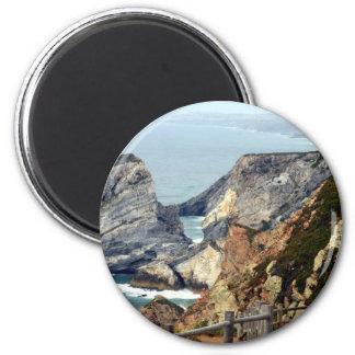 Cabo da Roca, Portugal 2 Inch Round Magnet