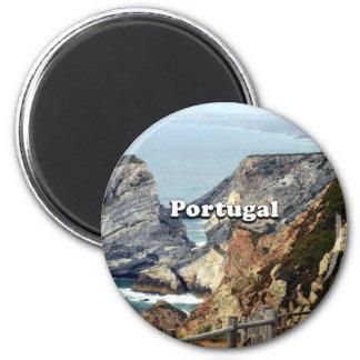 Cabo da Roca: Portugal 2 Inch Round Magnet