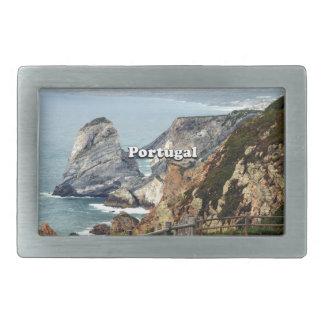 Cabo da Roca: Portugal Rectangular Belt Buckle