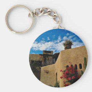 Cabo San Lucas, Baja, Mexico  flowers Keychain