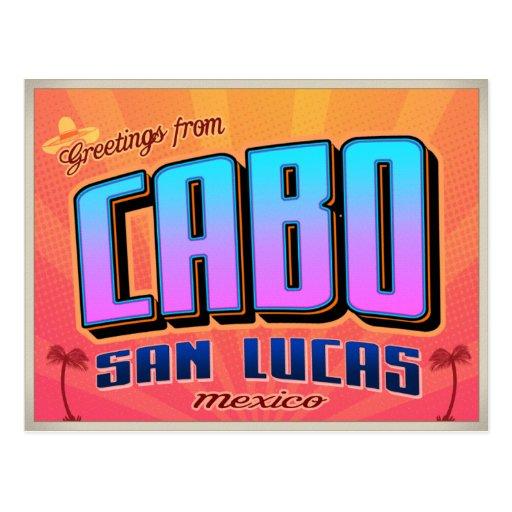 CABO SAN LUCAS CARTE POSTALE