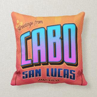 Cabo San Lucas home decor pillow