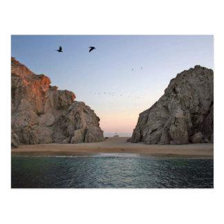 Cabo San Lucas Mexico Lover's Beach Postcard