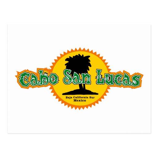 Cabo San Lucas Sun Postcards