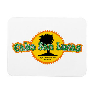 Cabo San Lucas Sun Rectangular Photo Magnet