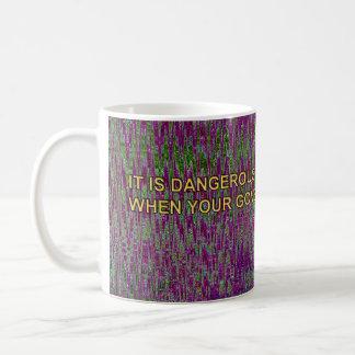 CABO SAN LUCAS TIME RIFT - IT IS DANGEROUS... COFFEE MUG