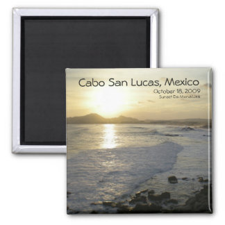 Cabo San Lucas view from Sunset Da Mona Lisa Magnet