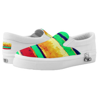 Cabo Stripes Artist Designed Unisex sneakers