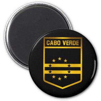 Cabo Verde Emblem 2 Inch Round Magnet