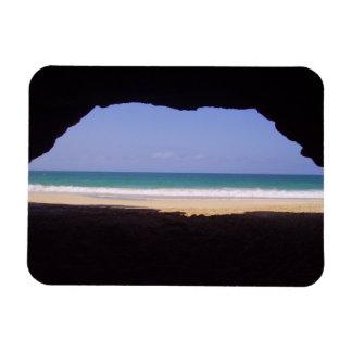 Cabo Verde - Praia Varandinha Rectangular Photo Magnet