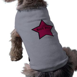 Cabot de vedette du rock vêtements pour chien