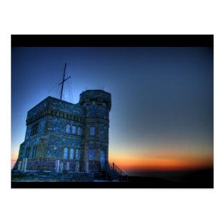 Cabot Tower Postcard