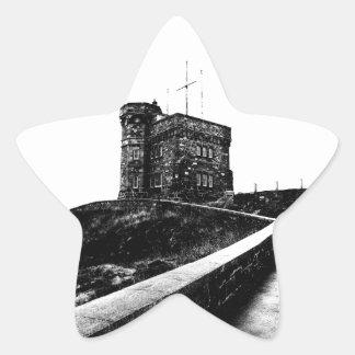 Cabot Tower Star Sticker