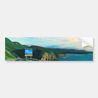 Cabot Trail, Cape Breton Bumper Sticker