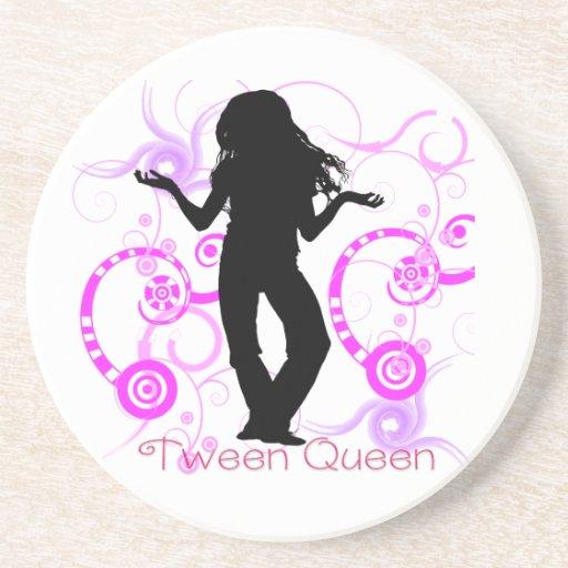 Caboteur de la Reine de Tween Dessous De Verres