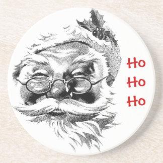Caboteur de Père Noël Ho Ho Ho Dessous De Verre