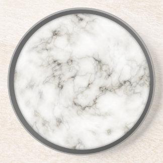 Caboteurs de marbre de jante d'étain d'obsidien d' dessous de verres