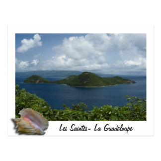 CABRI islets Holy Guadeloupes Postcard