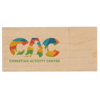 CAC Flash Drive Wood USB 2.0 Flash Drive