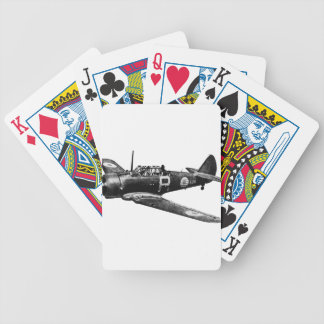 CAC_Wirraway Bicycle Playing Cards
