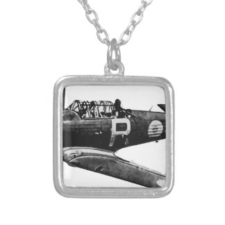 CAC_Wirraway Silver Plated Necklace
