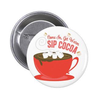 Cacao de Sip Macaron Rond 5 Cm