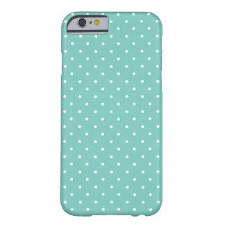 Cacatoès, pois vert et blanc de menthe petit coque iPhone 6 barely there