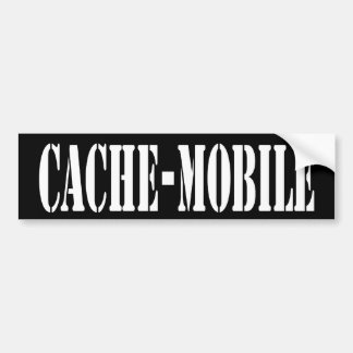 Cache-Mobile bumper Sticker