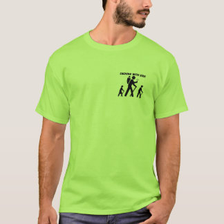 Caching with Kids T-Shirt