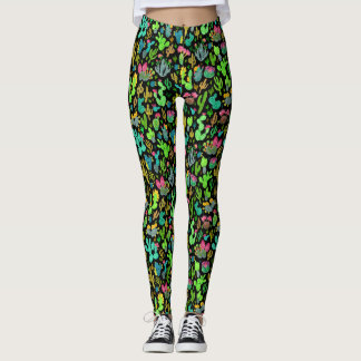 Cacti 1 leggings